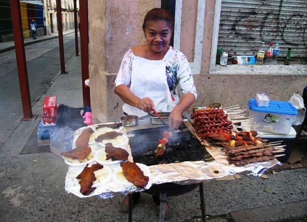 Foodstand Mittelamerika (c) Anja Knorr