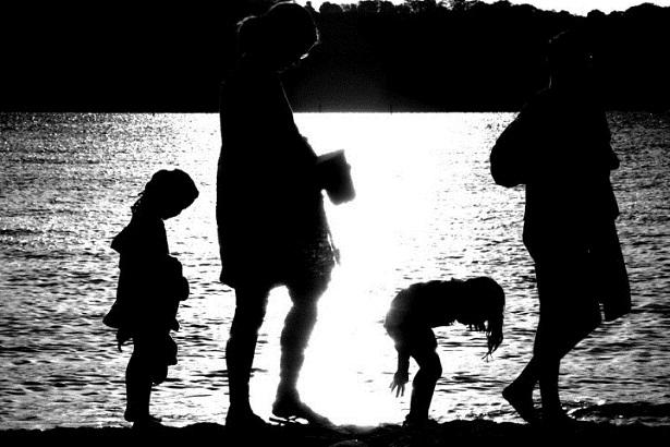 Menschen Strand (c) Anja Knorr