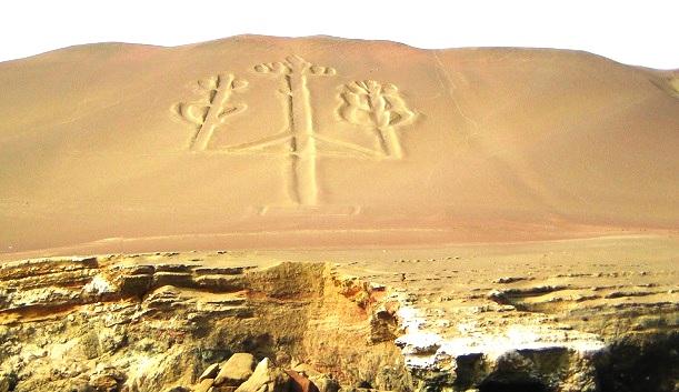 Geoglyph Halbinsel Paracas Peru (c) Anja Knorr