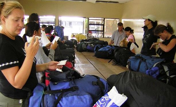 Honduras Grenzkontrolle (c) Anja Knorr