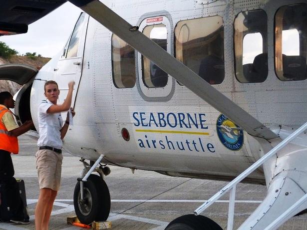 Seaborne Airlines Karibik (c) Anja Knorr