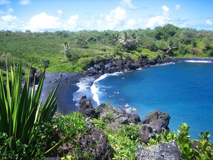Maui Hawaii surfen (c) Anja Knorr