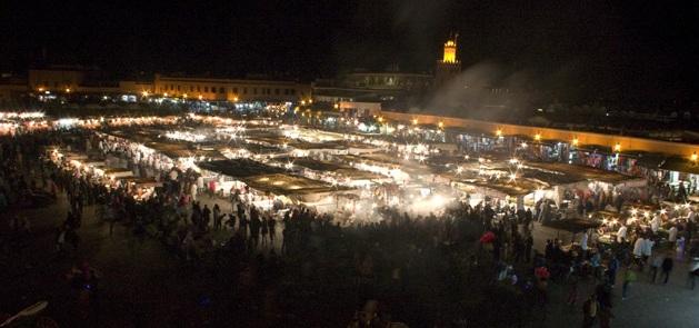 Marrakesch Place-Jeema-El-Fna_Marokko (c) Anja Knorr