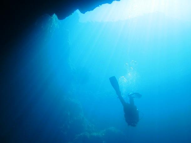 Azure Window Malta Unterwasser(c) Anja Knorr