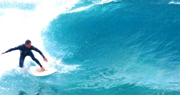 Wellenreiten Sagres Portugal (c) Anja Knorr