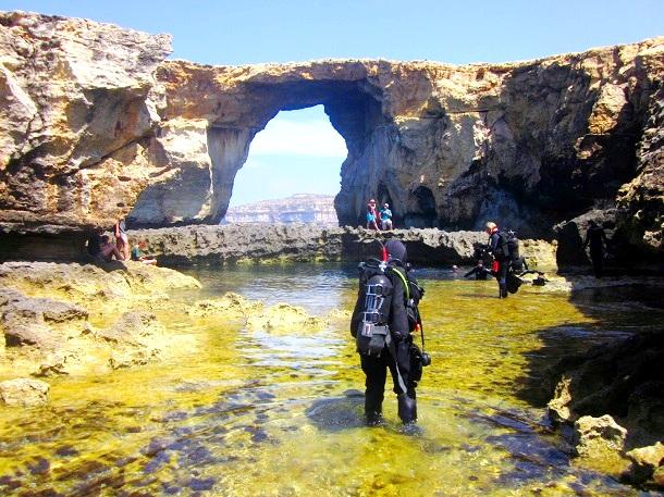 Azure Window Malta  (c) Anja Knorr