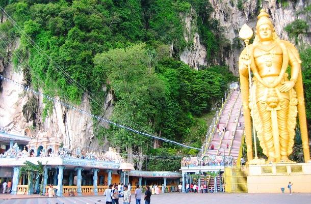 Batu-Caves Malaysia (c) Anja Knorr