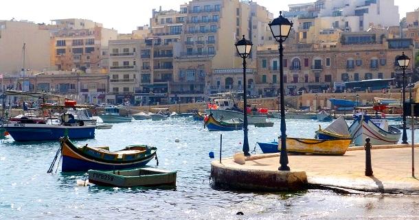 Malta Hafen  (c) Anja Knorr