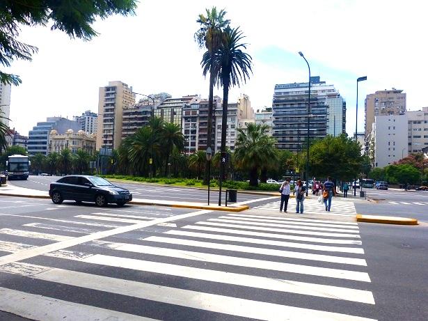 Avenida 9 de Julio Buenos Aires (c) Anja Knorr