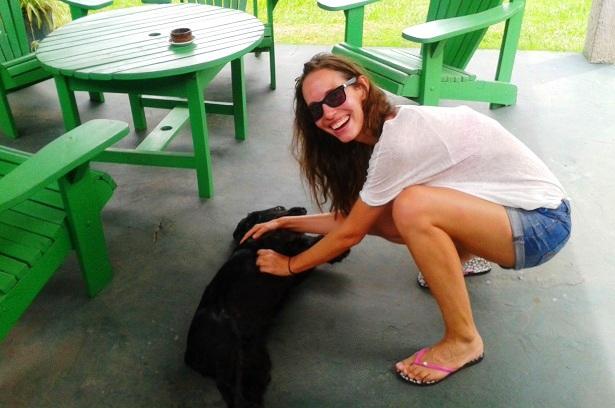 Hund Frau Uruguay (c) Anja Knorr