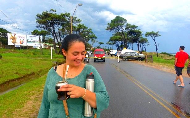 Mate Tee Uruguay (c) Anja Knorr