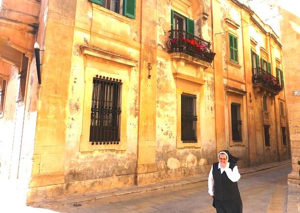 Mdina Nonne Malta (c) Anja Knorr