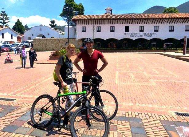 Kolumbien Radfahren (c) Anja Knorr