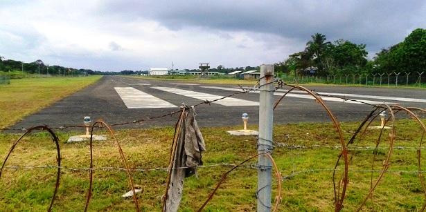MIlitärflughafen Kolumbien (c) Anja Knorr
