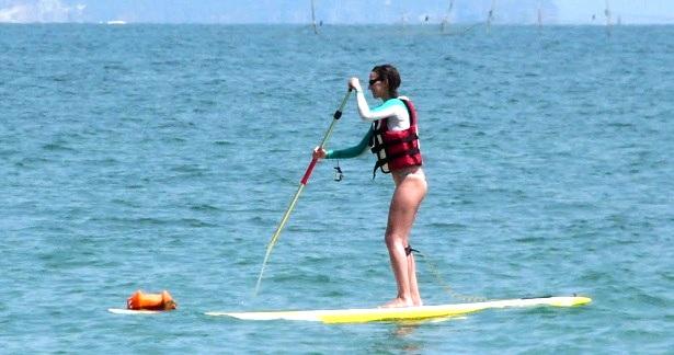 SUP Boarding Bulgarien (c) Anja Knorr
