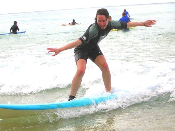 Surfen lernen (c) Anja Knorr