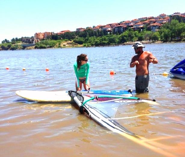 Windsurfen lernen Sozopol (c) Anja Knorr