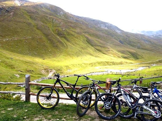Mountainbikes Livigno (c) Anja Knorr