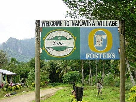 Willkommen Nakavika Fidschi (c) Anja Knorr