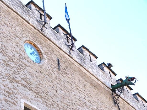 Rathaus Tallinn Drachen (c) Anja Knorr