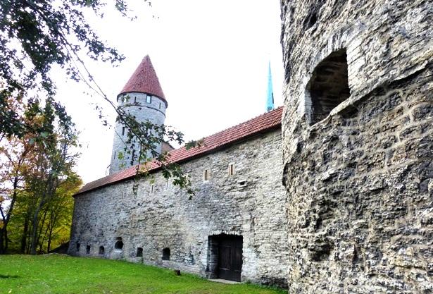 Tallinner Stadtmauer (c) Anja Knorr