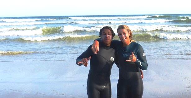 Surfer Stoked Surfcamp Südafrika (c) Anja Knorr