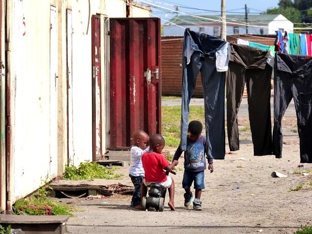 Khayelitsha Südafrika Kinder(c) Anja Knorr