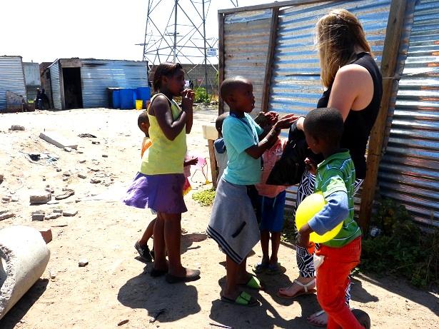 Kinder Township Kapstadt(c) Anja Knorr