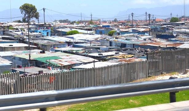 Townsip Südafrika  (c) Anja Knorr